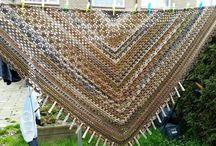 omslagdoek/sjaal/poncho haken