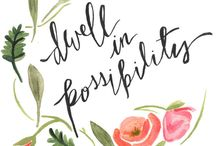 Floral Quotes & Pretty Words