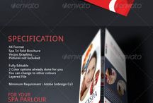 Examples of Brochures / Modern design brochure ideas.