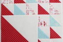 Aurifil Designer Block of the month series 2014