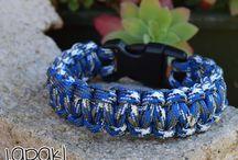 Survival Bracelets / original 550 paracord handmade bracelets... and now survive!