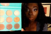 Hair and Beauty Reviews / Affordable Make up and hair styles for black women