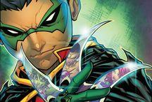 Damian Wayne/Robin / Damian is the child of Bruce Wayne and Talia al Ghul and thus the grandson of Batman's villain, Ra's al Ghul. The character was created by Mike W. Barr, and first appeared in Batman: Son of the Demon (1987).