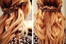 RF bridesmaids hair