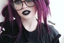 Geeky goth