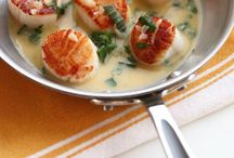 Scallops, seafood