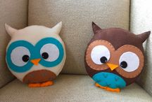 Owls and toys