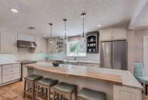 Coastal Glam Kitchen