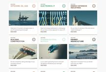 News - Web UI / News stories layout, news index pages, news design UI, web design