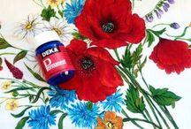 Stoffmalfarbe DEKA-Permanent / Stoffmalfarbe für helle Stoffe brilliante Farbtöne weich im Griff, bügelfixierbar