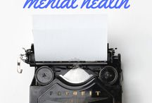 Mental Health, the advantages of writing.