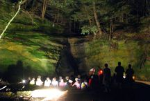 Hocking Hills stay at Walnut Valley Cabin near Rock Stalls Sanctuary