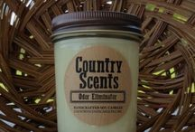 Country Candle Scents with Nowa's Candle Shop