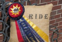 horse show ribbon or trophy ideas