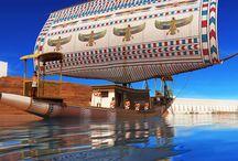 Ancient Egypt 3D Art