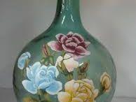 garrafas de flores clasicas