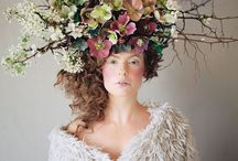 Floral head pieces / by Kay Schlaefli