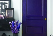 Interiors - Painted Doors