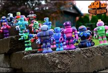 Robots of the Nation / Robots created by our Citizens / by MyRobotNation
