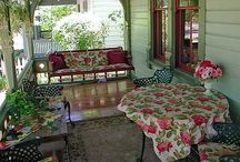 Porches and yards