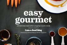 Easy Gourmet Cookbook / pins featuring recipes from my upcoming cookbook, Easy Gourmet! Preorder it here: http://amzn.to/1oH2yw6 / by stephanie le | i am a food blog