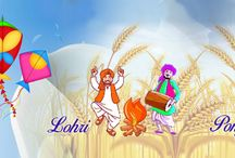 Happy Makar Sankranti / Happy Makar Sankranti Happy Makar Sankranti & Happy Lohri!! May all your wishes come true and may you achieve everything you desire!  Enjoy your day! http://www.nallucollection.com/