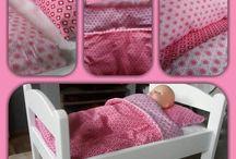 Voor het poppenmoedertje