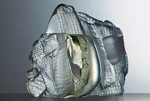 skleněné plastiky - jan fišar