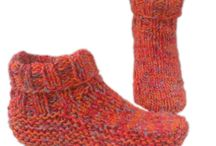Knitting shoes