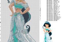 Crose stitch - Disney
