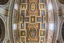 """Rome """"Vertical Churches"""" / Vertical Panorama's of Churches/Cathedrals in Rome, Italy."""