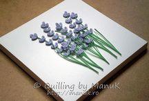 quilling lavender