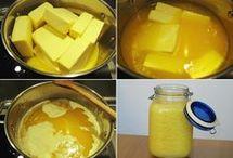 přepuštěné maslo