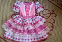 vestidos festa junina