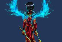 ninjago samurai x  and ninja of water