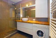 Bathroom laundry rooms