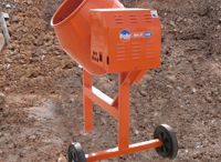 Mixing Range / •Mixing : Electric stirrers, Portable and Compact cement mixers, Large capacity mobile, Site mixers and Skip fed mixers.