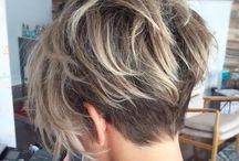 włosy cięcie