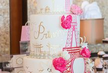 Party / Paris themed bat mitzvah
