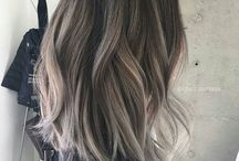 long bob layered hair