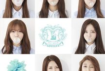 Lovelyz / Lovelyz (Hangul: 러블리즈) is a South Korean girl group which was formed in 2014 by Woollim Entertainment. The group consists of Baby Soul, Jiae, Jisoo, Mijoo, Kei, Jin, Sujeong and Yein. Their debut album, Girls' Invasion, was released on November 17, 2014.