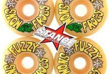 101 NOS Fuzzy Snow Frogs wheels 97a #101