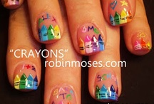 School Nail Art / by Rose Stumbaugh