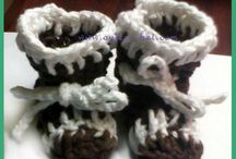 Crochet Baby Booties and Shoes -  Free Patterns and Tutorials / Free crochet patterns and tutorials for baby booties and shoes.