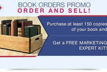 Would you like to get a Free Marketing Expert Kit? / We'd like to introduce to you our newest offer, the Book Orders Promo. Through this promo, you can get all the necessary tools to start your bookselling campaign through the Marketing Expert Kit. All you have to do is purchase at least 150 copies of your book and you can get a free Marketing Expert Kit.  To get more information about this promo go to http://www.bookwhirl.com/promo.
