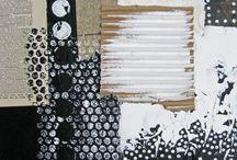 Peinture à effet (collage)