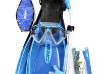 Cressi Snorkeling/diving Sets