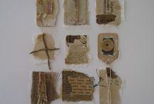 Paper Art / Great scraps of paper