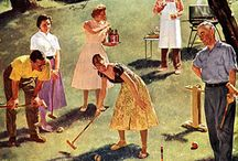 Croquet / Because it's just so damn fun