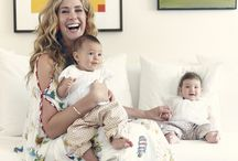 The tale of Juliette, Paloma and Valentina Arent  Squadrito /  There is mountains of interior design inspiration, and also two very cute baby girls and an extremely stylish interior designer mother.